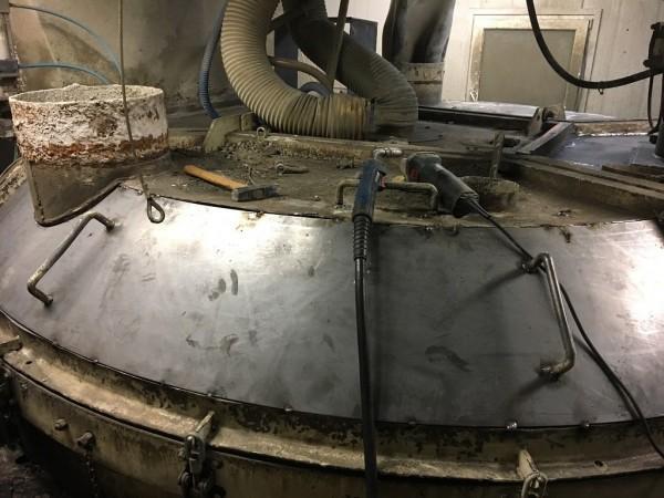 projektowanie części do węzłów betoniarskich